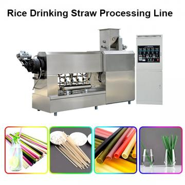 Stainless Steel Disposable Degradable Eco-Friendly Plastic-Free Rice Tapioca Corn Starch Drinking Straw Manufacturer Machine