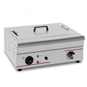 Kitchen Equipment 27L Big Capacity Stainless Steel Electric Deep Fryer (ZL-84)