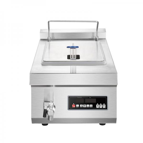 Food Machinery Double Tank Electric Fish Fryer