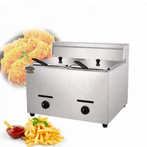 Commercial Counter Top Pressure Fryer Small/Single Cylinder Constant Temperature Deep Chips Fryer/Industrial Air Fryer for Sale