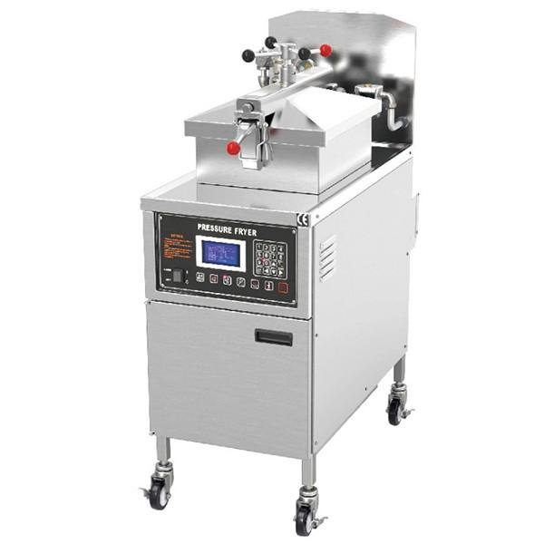 Industrial Gas Heating Chip Fryer Fried Chicken Frying Machine