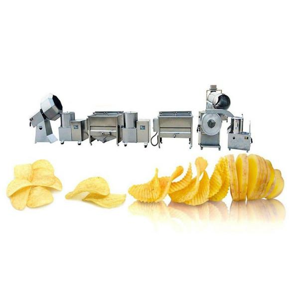 100kg/H Small Potato Chips Making Machine / Production Line Price